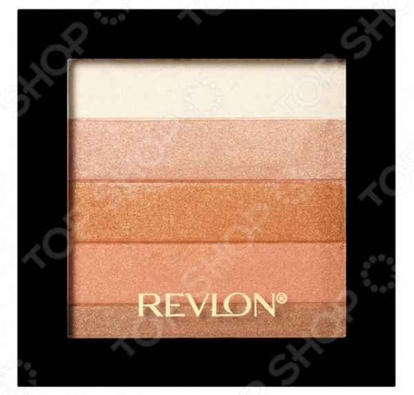 Палетка для моделирования контуров лица Revlon Highlighting Palette revlon highlighting palette палетка хайлайтеров 020 rose glow