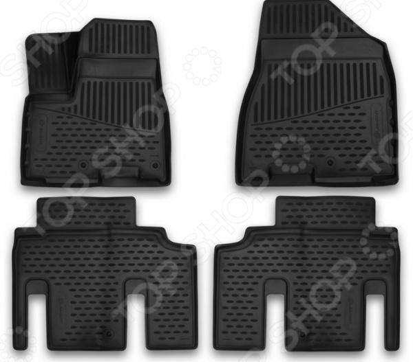 Комплект 3D ковриков в салон автомобиля Element KIA Carnival IV, 2015 dia 400mm 900w 120v 3m ntc 100k round tank silicone heater huge 3d printer build plate heated bed electric heating plate element