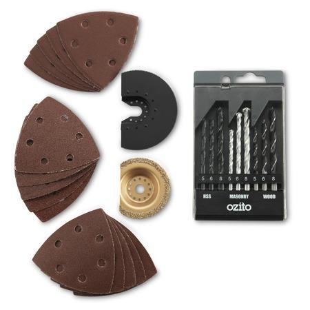 Купить Набор аксессуаров к многофункциональному инструменту Rovus «Ракета»