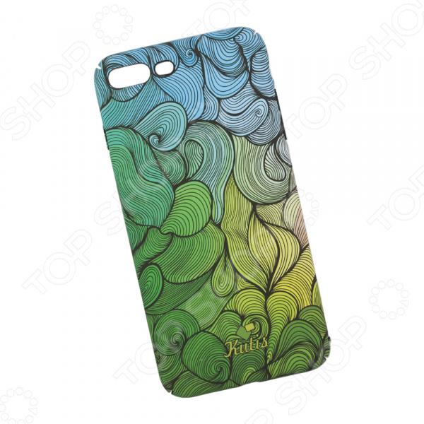 Чехол для iPhone 7 Plus/8 Plus KUtiS Rainbow Hairs DK-7 чехол для iphone 7 8 kutis rainbow hairs dk 8