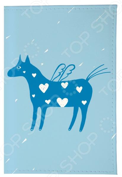 Обложка для автодокументов Mitya Veselkov «Крылатая лошадка»