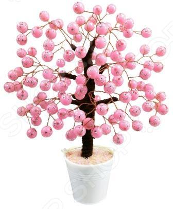 Набор для детского творчества Азбука тойс «Дерево из бусин: Розовое чудо»
