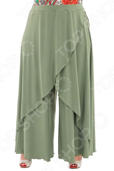 цена Юбка-брюки Pretty Woman «Крылья Пегаса». Цвет: светло-салатовый онлайн в 2017 году