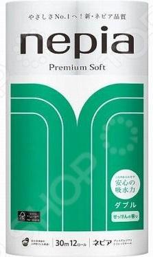 Туалетная бумага Nepia Premium Soft 267876 бумага туалетная эврика анекдоты часть 9