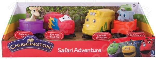 Игровой набор с фигурками Чаггингтон Safari Adventure