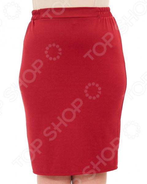 Юбка Laura Amatti «Венера». Цвет: бордовый платье laura amatti нежная радость цвет бордовый