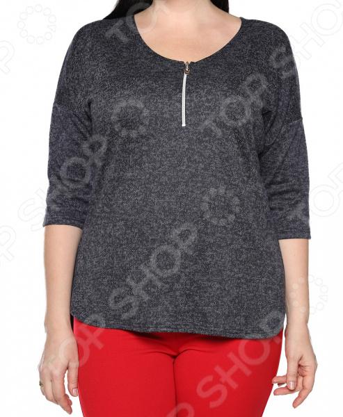 Блуза Blagof «Безоблачный день». Цвет: темно-синий блуза blagof блуза мерси цвет персиковый