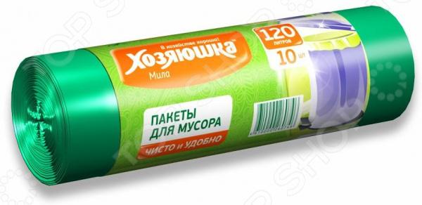 Пакеты для мусора Хозяюшка «Мила» 07004