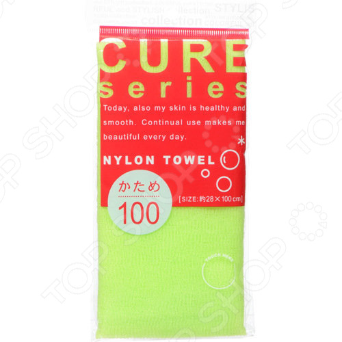 Мочалка OHE Cure series 618437 мочалка полотенце для тела жесткая ohe цвет синий 618659