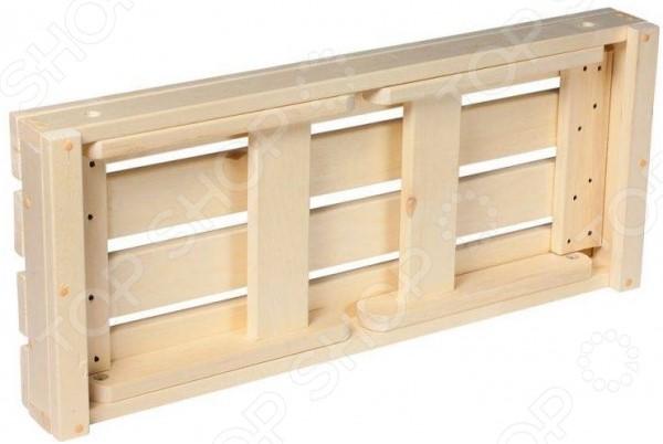 Лавочка для бани и сауны Банные штучки складная 2