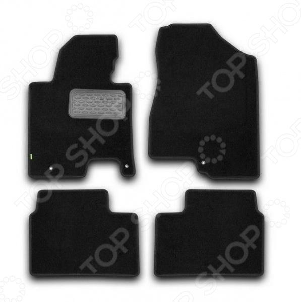 цена на Комплект ковриков в салон автомобиля Klever KIA Cee'd 2012 Standard