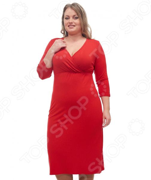 купить Платье Матекс «Матильда». Цвет: красный недорого