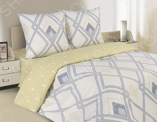 Комплект постельного белья Ecotex «Поэтика. Аргайл»