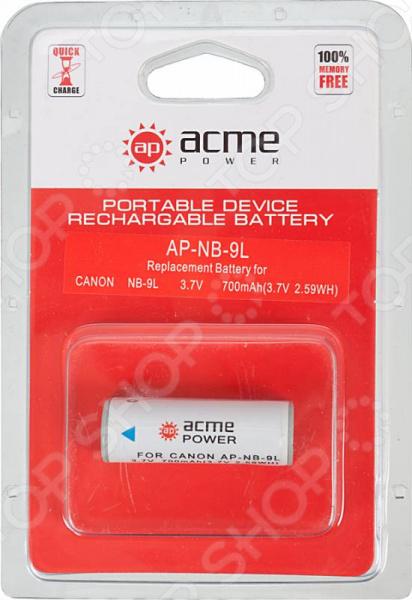 Аккумулятор для телефона AcmePower AP-NB-9L аккумулятор acmepower ap nb 2l nb 2lh ap nb 2l 12 2l 14