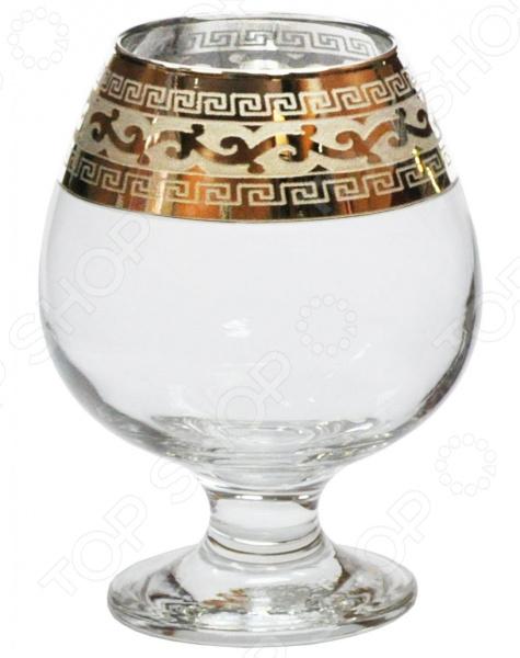 Набор бокалов для коньяка Гусь Хрустальный «Версаче» набор бокалов crystalex ангела оптика отводка зол 6шт 400мл бренди стекло