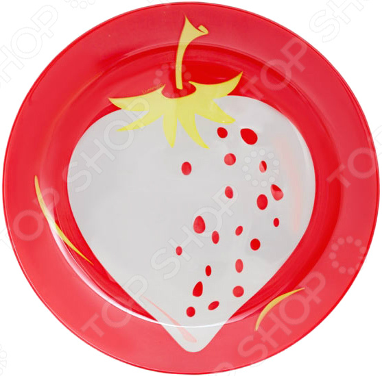 Тарелка десертная Luminarc Fruity Energy «Клубника»