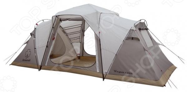 Палатка с автоматическим каркасом NOVA TOUR «Виржиния 4 квик»