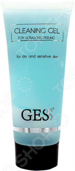 Гель очищающий для ультразвукового пилинга Gess сухая и чувствительная кожа