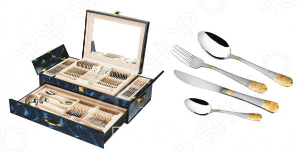 Набор столовых приборов Hans Muller «Версаче» ложка для сахара kramet модерн