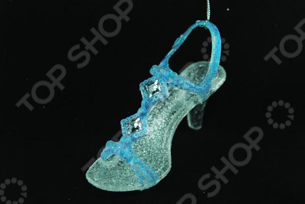 Новогоднее украшение Crystal Deco «Туфелька»