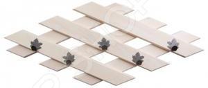 Вешалка Банные штучки с 5 крючками 32311 стенка с крючками в 5