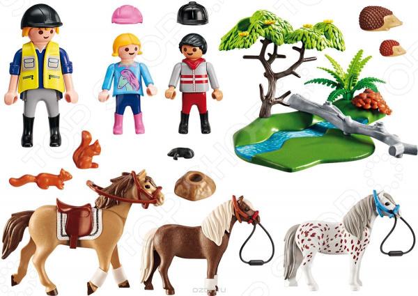 Игровой набор Playmobil «Ферма Пони: Верховая езда»
