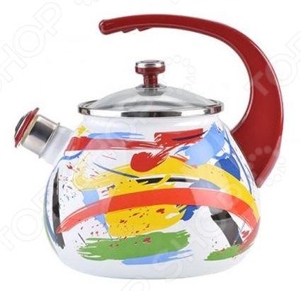 Чайник со свистком LAUREL Life in emotions gipfel чайник для кипячения воды visit 2 7 л