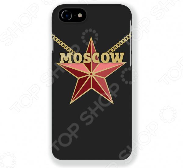 Чехол для iPhone 7 Mitya Veselkov Moscow Star чехлы для телефонов with love moscow силиконовый дизайнерский чехол для meizu m3s перья