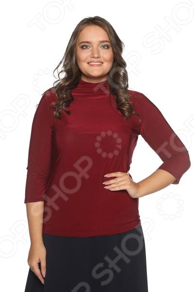 Водолазка Blagof «Цвет настроения». Цвет: бордовый блуза blagof blagof mp002xw0ygn0