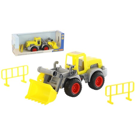 Купить Машинка игрушечная Wader «КонсТрак. Трактор-погрузчик»