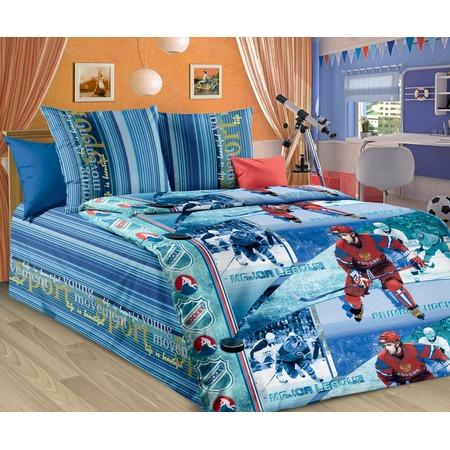Купить Детский комплект постельного белья Бамбино «Хоккей»