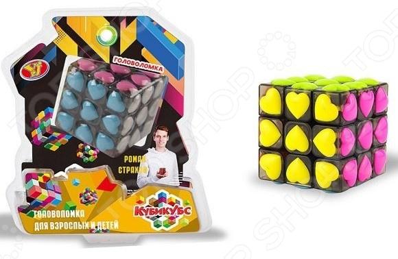 Головоломка Наша Игрушка «Куб. Сердечки»