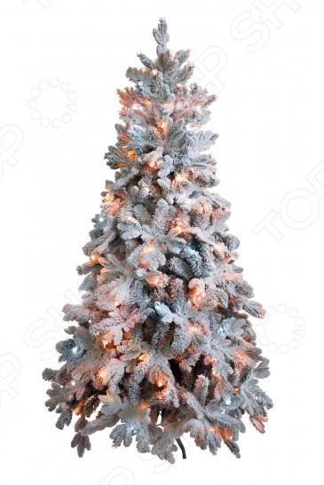 Ель искусственная Green Trees «Барокко Премиум» снежная световая