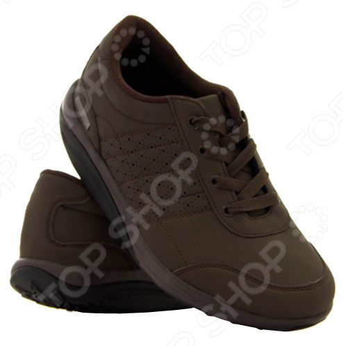 Обувь мужская Walkmaxx Men 39;s Style это не просто универсальные кроссовки на каждый день. Это уверенность, стиль и комфорт. Надевайте их на работу и на прогулки. Их дизайн практичен и не имеет лишних деталей. Шнуровка надежно фиксирует ногу и позволяет самостоятельно регулировать полноту стопы. Сколько бы шагов вы не сделали в обувь Walkmaxx Men 39;s Style, каждый из них будет придавать вам сил и энергии. Обувь мужская Walkmaxx Men 39;s Style изготовлена из высокачественных и износостойких материалов. Верх кроссовок сделан из полиуретана высокосортного многослойного материала на хлопковой основе, с дышащей поверхностью, эластичной, мягкой и прочной. Прокладка выполнена из полиэстера, а подошва из износостойкой упругой резины ЭВА, амортизирующей удары. Укрепляйте мышцы и сжигайте калории при каждом шаге! С обувью Walkmaxx вы можете укрепить свои мышцы, улучшить осанку и сжечь лишние калории, не переступая порог спортзала. Надев эти кроссовки, вы почувствуете, что ступаете словно по мягкому песку. При каждом шаге вы будете непроизвольно напрягать мышцы ног, ягодиц и спины, чтобы сохранить равновесие. Без сознательных усилий с вашей стороны тело укрепит мышцы и избавится от лишнего веса. В чем секрет кроссовок Walkmaxx  Подошва у кроссовок Walkmaxx не прямая, как у обычной обуви, а округлая, поэтому при каждом шаге стопа перекатывается вперед и назад. Благодаря этому улучшается циркуляция крови и прорабатываются все мышцы стопы от пяток до кончиков пальцев. Именно такая ходьба является естественной для человеческого тела, а потому самой полезной. Кроссовки с оригинальной округлой подошвой Walkmaxx:  Улучшат вашу осанку  Снимут напряжение мышц  Предотвратят возникновение боли в суставах и спине  Перераспределят вес тела, уменьшив нагрузку на суставы  Улучшат кровоснабжение и тонус мышц бедер, ягодиц, икр  Ускорят сжигание калорий и потерю веса