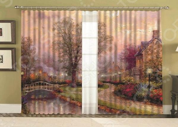 Фотошторы «Сван» текстиль для дома