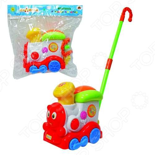 Каталка Тилибом «Паровозик» таис игрушка каталка паровозик