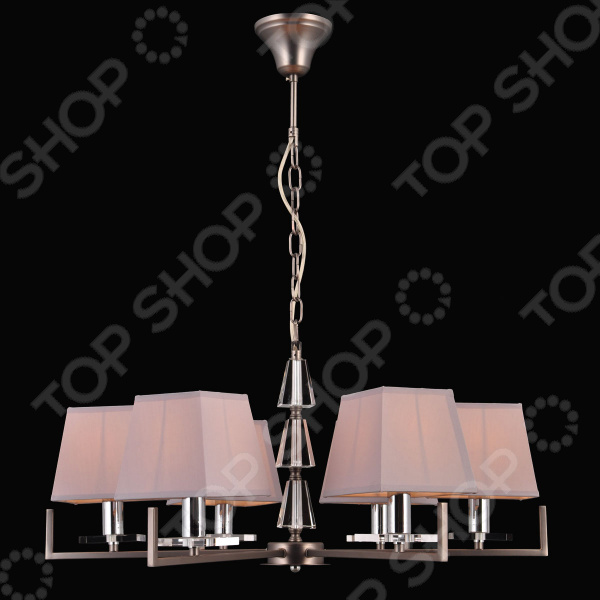 Люстра Natali Kovaltseva 75006/6c Silver Gray