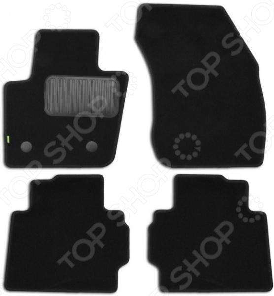 Комплект ковриков в салон автомобиля Klever Standart для Ford Mondeo седан, 2015 коврики салона rival для toyota rav4 2013 2015 2015 н в резина 65706001