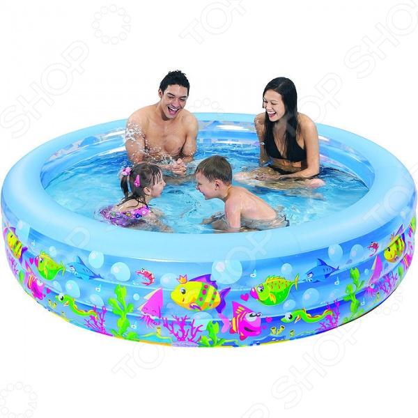 Бассейн надувной Jilong Aquarium Pool JL017026NPF бассейн каркасный jilong kids frame pool цвет зеленый 152 х 152 x 33 см