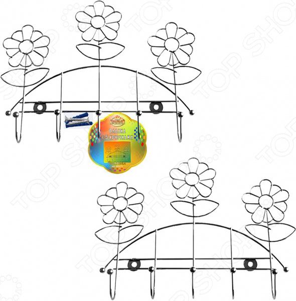 Планка с крючками Мультидом «Ромашка» AN52-74 место где можно купить индийское сари