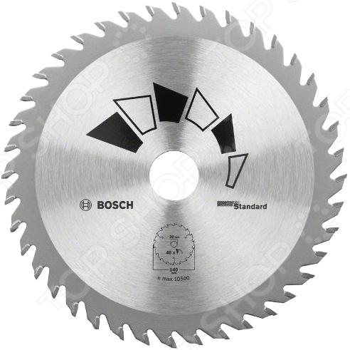 Диск отрезной Bosch Standard диск отрезной для ручных циркулярных пил bosch optiline wood 2608640617