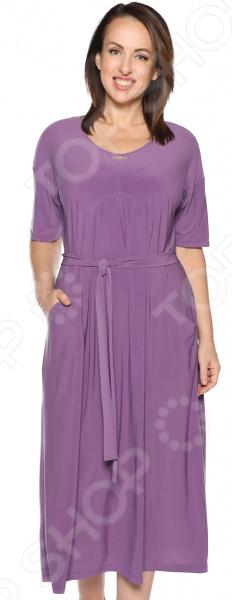 Платье Лауме-Лайн «Ласковый вечер». Цвет: лавандовый