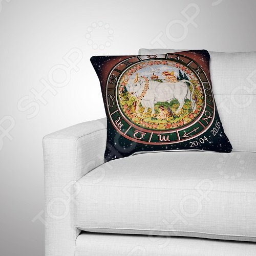 Подушка декоративная «Телец»