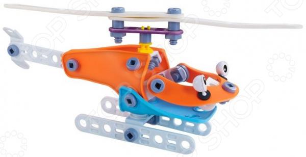 Конструктор гибкий Fun Red «Вертолет» конструктор fun red вертолет 14 деталей разноцветный