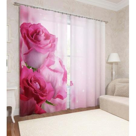 Купить Фотошторы Сирень «Блеск роз»