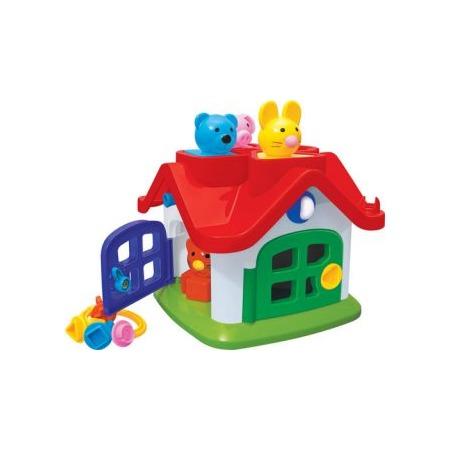 Купить Игрушка-сортер развивающая POLESIE «Логический домик. Теремок»