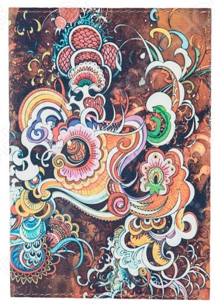 Обложка для автодокументов кожаная Mitya Veselkov «Инди-стайл» цена