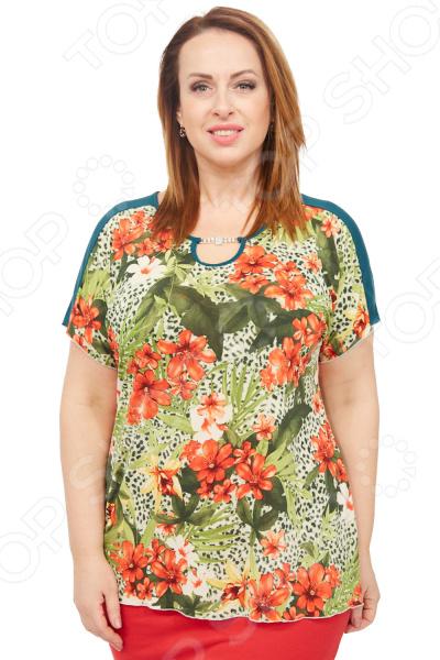 Туника Лауме-стиль «Эмили». Цвет: салатовый туника лауме стиль галла цвет васильковый