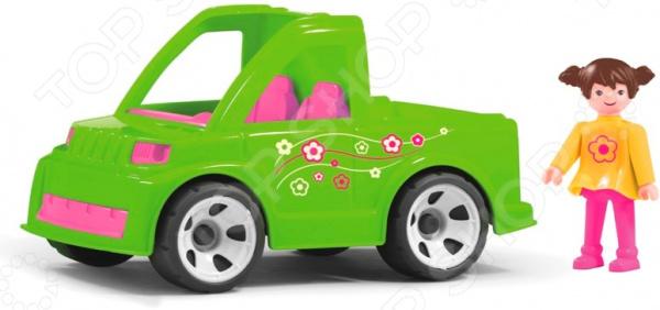 Машинка игровая EFKO «Автомобиль службы озеленения и водитель»