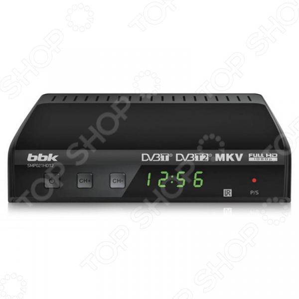 Ресивер BBK SMP021HDT2 Ресивер BBK SMP021HDT2 /Темно-серый